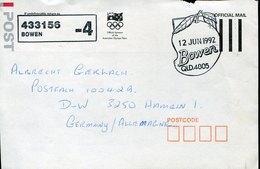 50961 Australia, Special Postmark 1992  Apple,  Apfel, - Fruits
