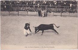 40. La Course Landaise. Un Ecart De Minvielle. 1109 - Ohne Zuordnung