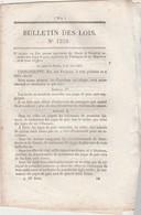 Bulletin Des Lois 1210 De 1845 - Pont D' Amboise Avec Tarifs Du Péage - Décrets & Lois