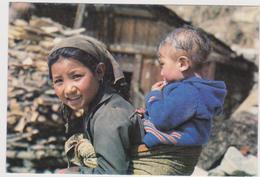 Népal Jeune Sherpani De Khumbu - Nepal