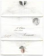 REPUBBLICA ROMANA - DA LORETO A RECANATI - 10.3.1849. - Italia