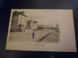 Le Boulevard Thiers - Saint Jean De Luz
