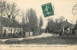 - Dpts Div. -ref-AP921- Yvelines - Saint Mesme - St Mesme - Route De Dourdan - Le Petit Clos Et Ancien Moulin Du Pré - - Frankreich