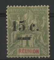 REUNION / COLONIES N° 55 * (MH). Cote 25 € - Ongebruikt