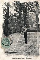 Les Sports, Athlétisme - Le Saut à La Perche - Carte Dos Simple 1905 - Athlétisme