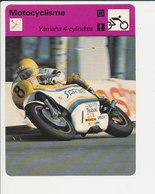 Yamaha 4 Cylindres Takazumi Katayama (GP De Finlande) Motocyclisme Sport 01-FICH-Moto-1 - Sports