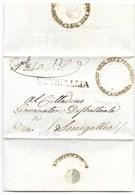 REPUBBLICA ROMANA - DA MONDOLFO A SENIGALLIA - 2.5.1849. - ...-1850 Voorfilatelie