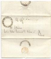 REPUBBLICA ROMANA - DA GRADARA A PESARO - 19.3.1849. - ...-1850 Voorfilatelie