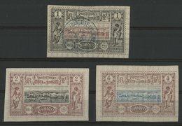 COTE DES SOMALIS / COLONIES N° 6 Oblitéré + N° 7 Et 8 Neufs * (MH). Cote 28 €. TB - Neufs