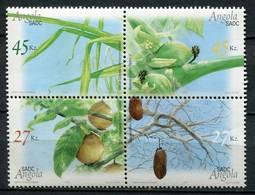 Angola Mi# 1724-7 ZD Postfrisch MNH - Tree Fruits - Angola