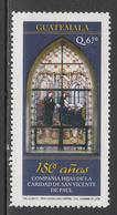 2012 Guatemala Sisters Of Vincent De Paul Complete Set Of 1 MNH - Guatemala