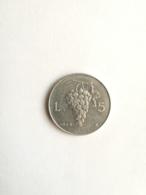 Moneta Repubblica Italiana 5 Lire - Uva - 1949 - 1946-… : Republic