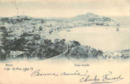 CHINA CHINE MACAO Praya Grande En 1903 Hong-Kong Stamped - China