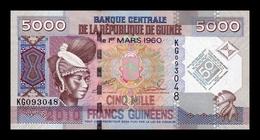 Guinea 5000 Francs Commemorative 2010 Pick 44a SC UNC - Guinea