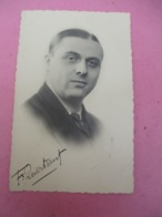 Portrait D'Artiste D'Epoque/Fernand QUERTANT/Chanteur / LILLE/Hazebroucq/Vers1940-60               PA257 - Entertainers