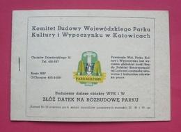 Poland 1969 - Mint MNH ** - Booklet Fi ZzN 13 , Katowice, Dogs --- Pologne Polen Polonia --- 165 - Carnets
