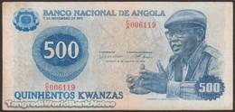 TWN - ANGOLA 116 - 500 Kwanzas 14.8.1979 Various Prefixes VG/F - Angola