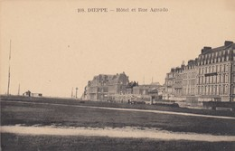 DIEPPE: Hôtel Et Rue Aguado - Dieppe