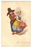 CPA Illustrateur Colombo Enfants - Colombo, E.