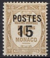 MONACO  N* 142 TB Charniere - Monaco