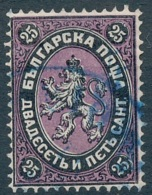 [56083]TB//O/Used-c:65e-N° 3, 25c Noir Et Violet - Gebraucht