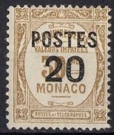 MONACO  N* 143 TB Charniere - Monaco