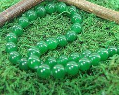 Perles En Jade Pour Collier Ou Bracelet En 6, 8 Et 10 Mm - Jade