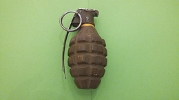 Grenade à Main Défensive US MKII - Armes Neutralisées
