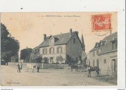 60 HECOURT LA FERME D HECOURT - Autres Communes