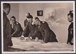AK Propaganda / Der Führer Bespricht Die Nächste Operation Im Führerhauptquartier / Gelaufen 1940 - Weltkrieg 1939-45