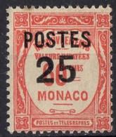 MONACO  N* 144 TB Charniere - Monaco