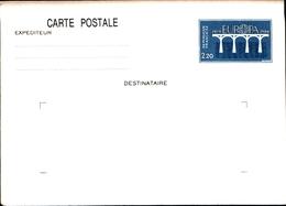 12094) FRANCIA 1984 - INTERO POSTALE, CARTOLINA POSTALE EUROPA CEPT FR 2,20 - Isola Di Man