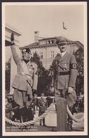 AK Propaganda / Der Führer Und Der Duce / Die Garanten Des Friedens / Gelaufen 1937 - Weltkrieg 1939-45