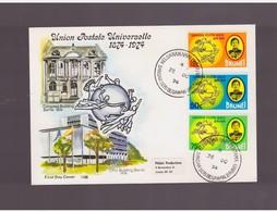 Brunei - 26 10 1974  Fdc Upu - U.P.U.