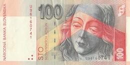 Billet 100 Korun Slovaquie - Slowakije