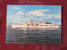 "Greece 1972 Postcard ""Naias Ship To Mykonos"" To USA - Olympic - Archaeology - Greece"