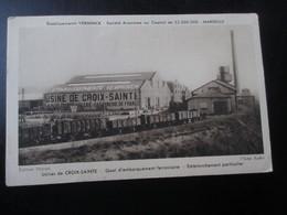 MARSEILLE_Etablissements VERMINCK_Usines De Croix Sainte_Quai Embarquement Ferroviaire_Embranchement Particulier - Autres