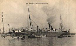 ARGELIA // Algérie - ALGER LE GENERAL CHANZY - Commerce