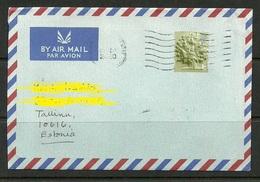 GREAT BRITAIN 2020 Air Mail Cover To Estonia - 1952-.... (Elizabeth II)
