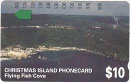 CHRISTMAS ISL. - Fkying Fish Cove, Tirage 22500, Mint - Christmas Island