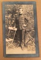 Carte Souvenir Décès Soldat Verstichelen - Overleden Te Brussel In Den Anglo-Belge 19/09/1921 Imp. Vanderdonckt Lessines - Militaria