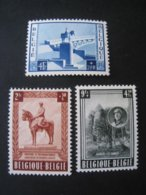 Timbres Anciens Vendus à 20% De La Valeur Catalogue  COB 938/940** - Belgique