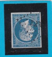 N° 14 A   PC 827   CHAUMONT Sur TARONNE  ( 40 )  LOIR Et CHER  - REF 14112 - IND 12 - COTE 80 €+ Variété - 1853-1860 Napoléon III