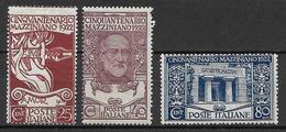Italy - Italia -  1922 Mi. Nr. 157/159 - Ungebraucht