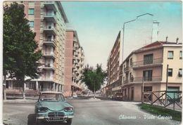 222 - CHIVASSO TORINO VIALE CAVOUR AUTOMOBILE 1964 - Altre Città