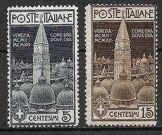 Italy - Italia -  1912 Mi. Nr. 105/106 - Ungebraucht