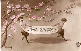 Diable Satyre Signé Ballester - Illustratori & Fotografie