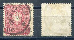 Deutsches Reich Michel-Nr. 33Da Vollstempel - Geprüft - Gebruikt