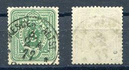 D. Reich Michel-Nr. 31a Vollstempel - Geprüft - Gebruikt