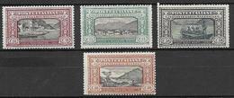 Italia - Italy 1923 Mi. Nr. 188/191 - Ungebraucht